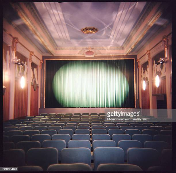 Interior of an old cinema