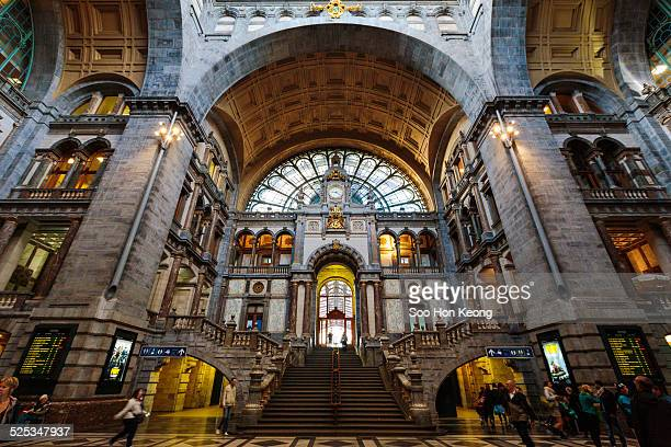 Interior of Antwerp Centraal Station