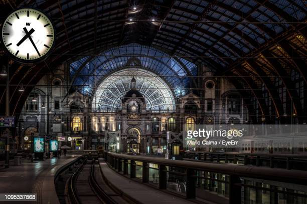interior of antwerp central station - antwerp city belgium stock pictures, royalty-free photos & images