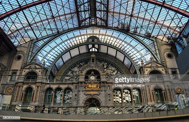 Interior Of Antwerp Central Station