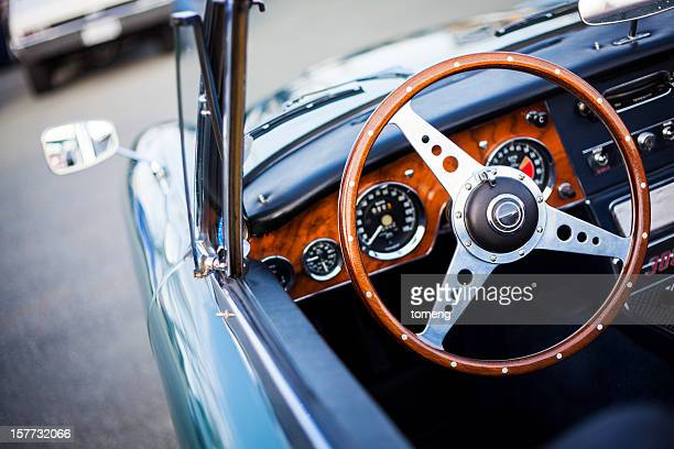 Interior of Austin Healey 3000 MK III