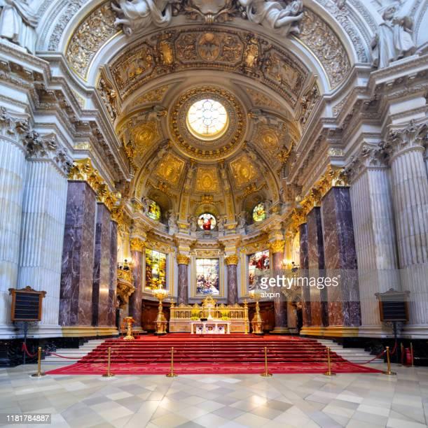 ベルリン大聖堂の内部, ドイツ - ベルリン大聖堂 ストックフォトと画像