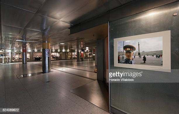 Interior of Bonn-Gronau Heussallee/Museumsmeile subway station in Bonn, Germany, 09 September 2014. Bonn, that offers many touristic attractions, was...