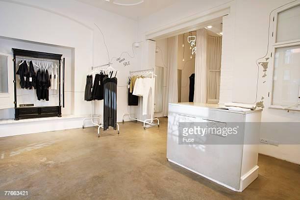 Interior of Boutique
