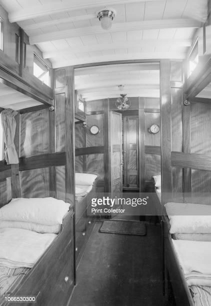 Interior of cabin on cabin cruiser DGSP 1913
