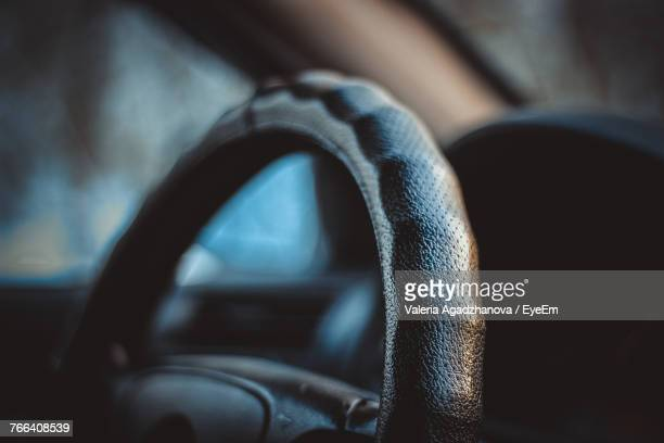 interior of car - steering wheel stock pictures, royalty-free photos & images