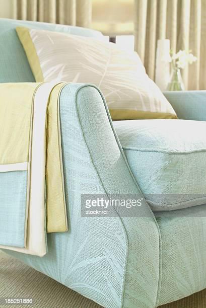 Intérieur d'un fauteuil dans le salon