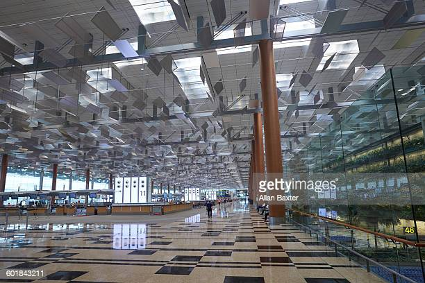 Interior of Changi airport, Singapore