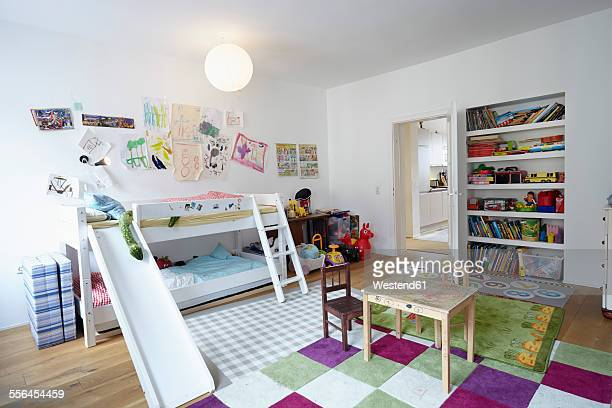 Interior of childrens room