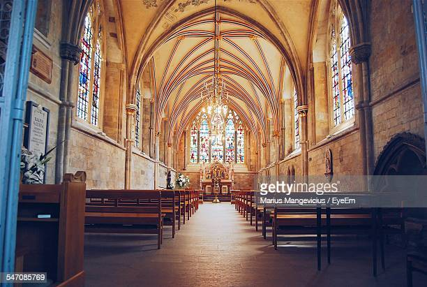interior of church - southampton england stock pictures, royalty-free photos & images