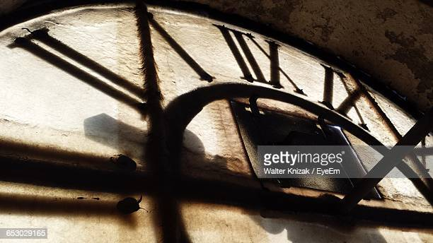 interior of clock tower - clock tower stock pictures, royalty-free photos & images