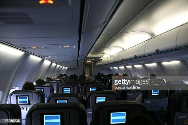 Interior Of Commercial Passenger Jet