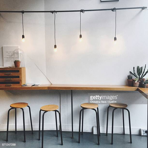 Interior Of Empty Coffee Shop