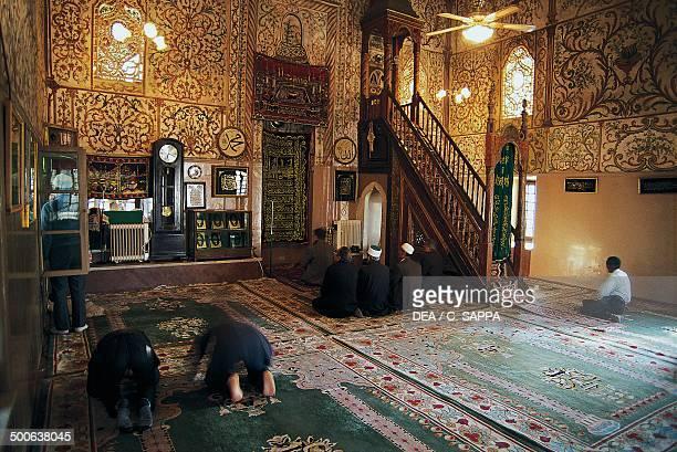 Interior of Ethem Bey Mosque 17891823 Tirana Albania 18th19th century
