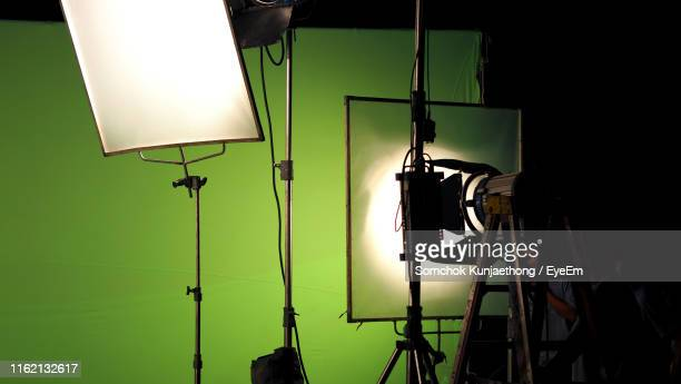 interior of film studio - behind the scenes stock pictures, royalty-free photos & images