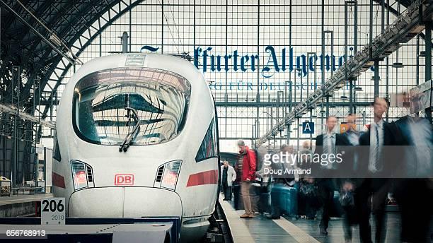 Interior of Frankfurt Central Station