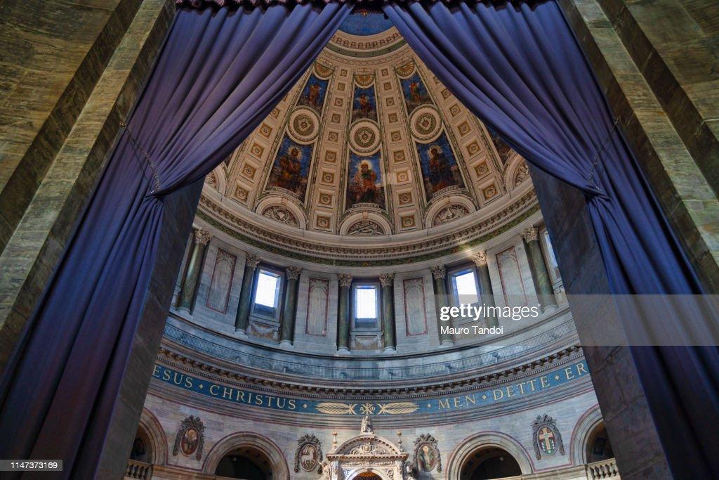 Interior of Frederik's Church (Frederiks Kirke), Copenhagen, Denmark : Stock Photo