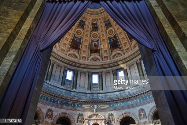 interior of frederik's church (frederiks kirke), copenhagen, denmark - mauro tandoi stock photos and pictures