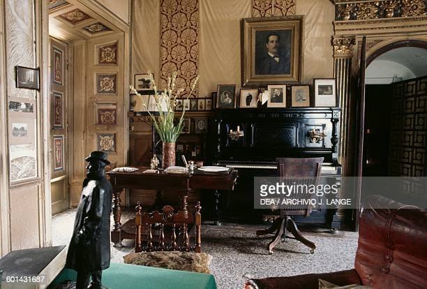 Interior of Giacomo Puccini's house in Torre del Lago Puccini Tuscany Italy Torre Del Lago Puccini Museo Villa Puccini
