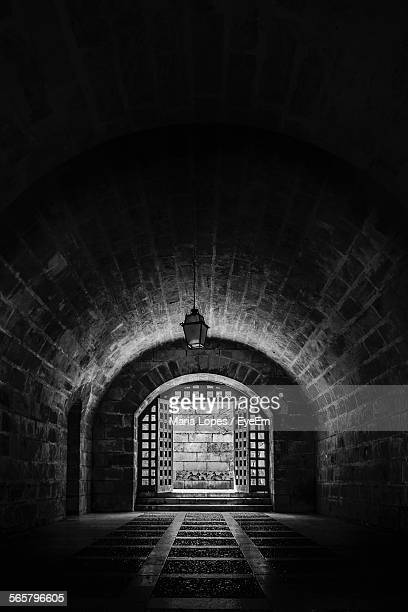 Interior Of Historic Crypt, Majorca, Palma De Majorca, Spain