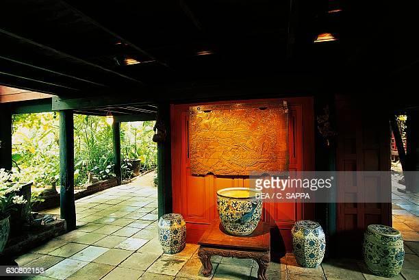 Interior of Jim Thompson house Bangkok Thailand 20th century