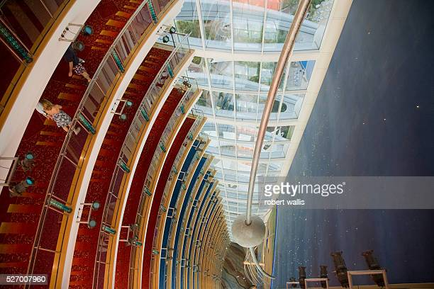 Interior of Jumeirah Beach Hotel Dubai
