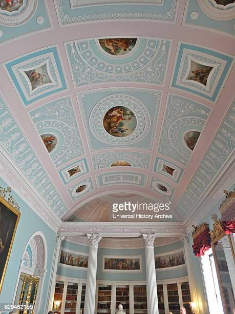 interior of Kenwood House The original house dates from the early 17th Century and was then called Caen Wood House Originally designed by Humphry...