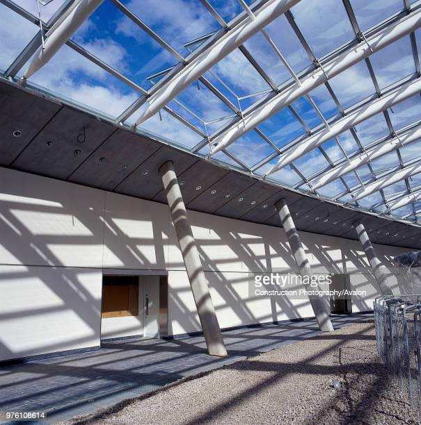 Great Glass House National Botanic House of Wales Carmarthenshire Wales United Kingdom Designed by Norman Foster and Partners
