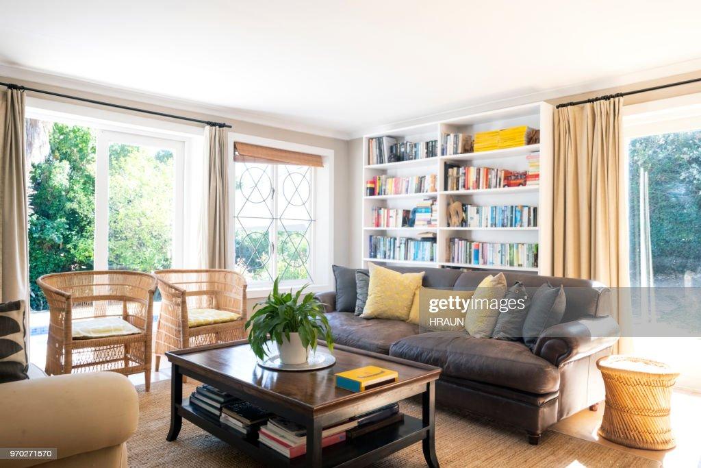 Interior of living room : Stock Photo