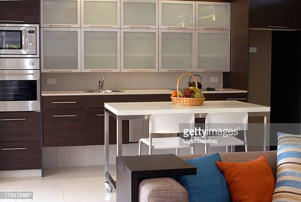 interior of luxury apartment - endopack stock pictures, royalty-free photos & images