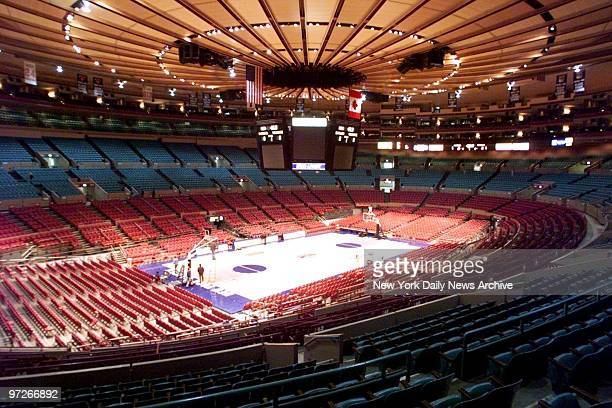 Interior of Madison Square Garden
