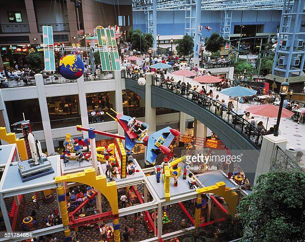 interior of mall of america - mall of america stock pictures, royalty-free photos & images