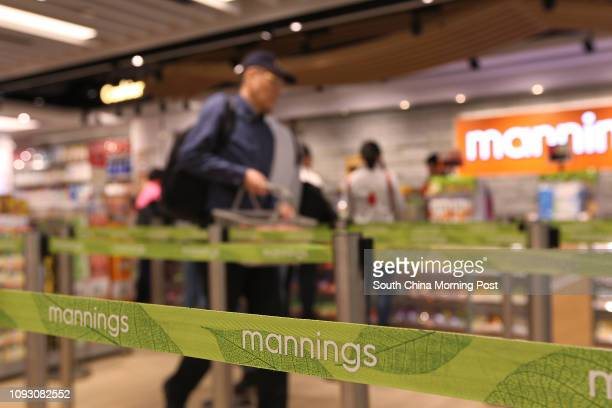 Interior of Manning Shop in Landmark North Sheung Shui25OCT17 SCMP / Roy Issa
