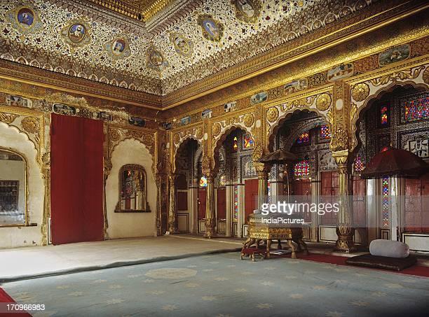 Interior of Mehrangarh Fort Jodhpur Rajasthan India