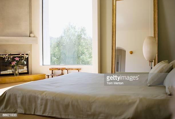 Interieur des modernen Schlafzimmer