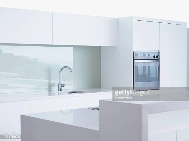 Interieur des modernen Privatküche