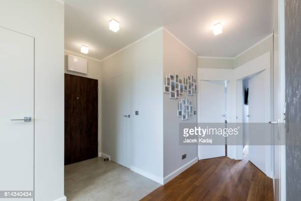 interior of modern house - corner stock pictures, royalty-free photos & images