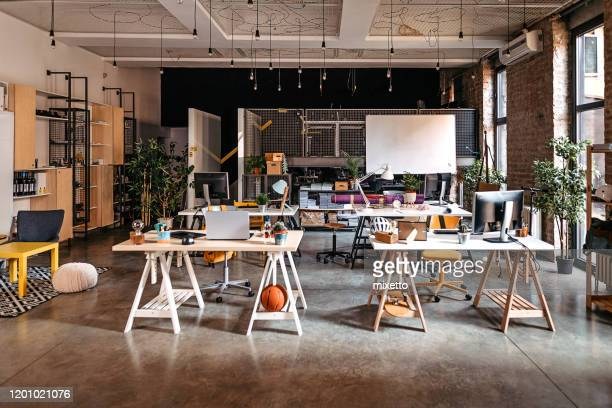 interior of modern office - fashionable stock pictures, royalty-free photos & images