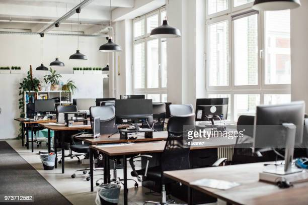 interior of modern office - no people stock pictures, royalty-free photos & images