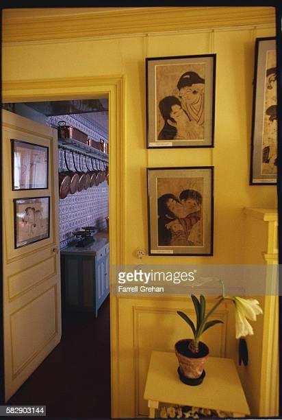 Interior of Monet's House
