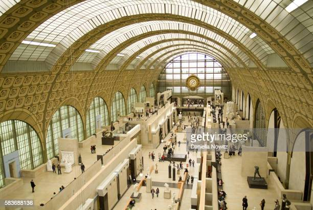 Interior of Musee d'Orsay