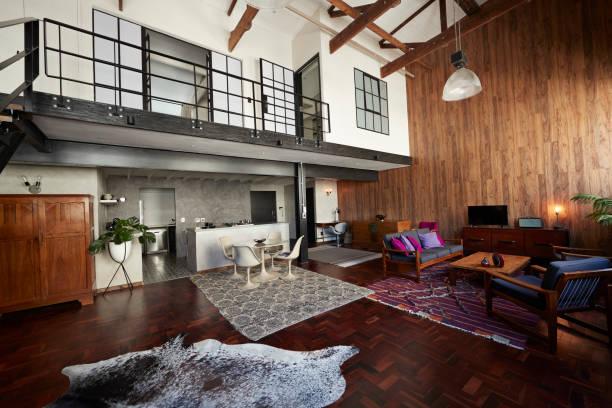 interior of new york style loft holiday rental apartment photos com