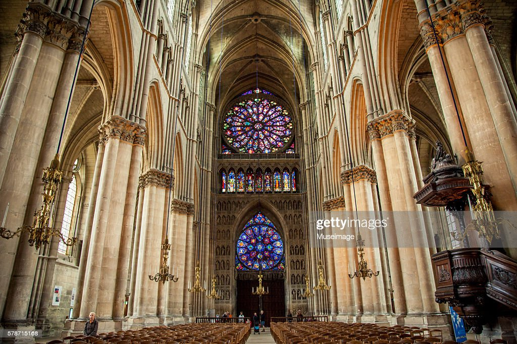 Interior Of Notre Dame De Reims, Reims Cathedral