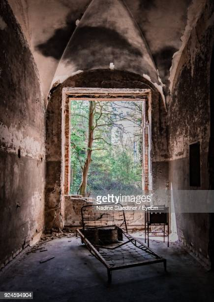 Interior Of Old Abandoned Building