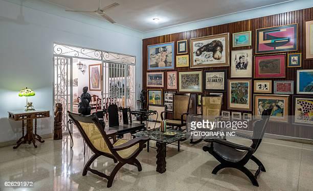 Interior of Old Havana Villa