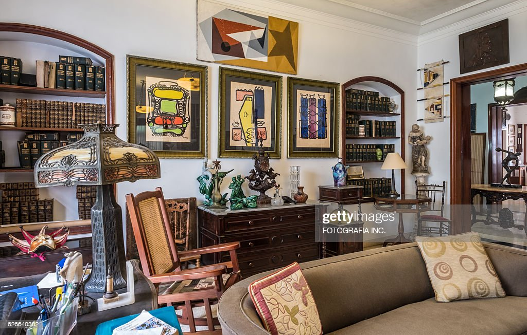 Interior of Old Havana Villa : Stock Photo
