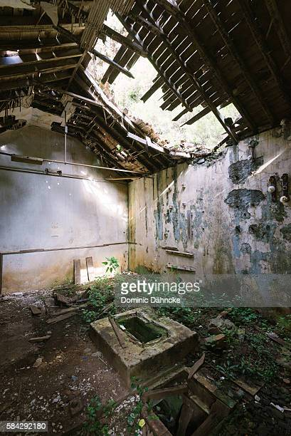 interior of old house - ruined stock pictures, royalty-free photos & images
