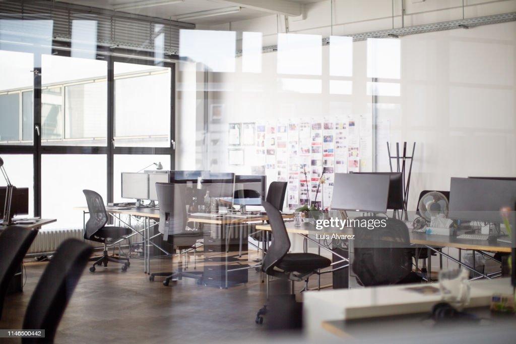 Interior of open office : Stock Photo