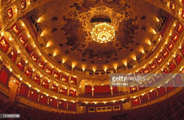 Interior of opera house