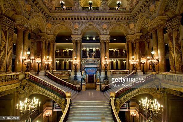 Interior of Paris Opera
